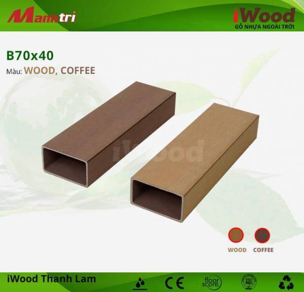 B70x40-coffee-wood hình 1