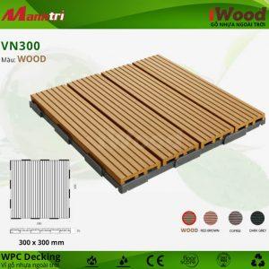 vỉ gỗ nhựa VN300-wood