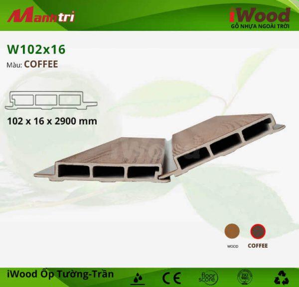 W102X16-Coffee hình 2