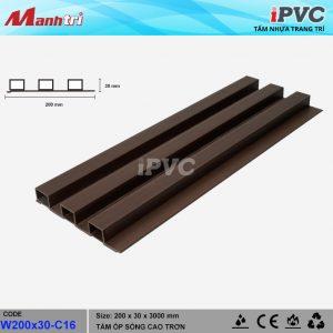 iPVC W200x30-C16