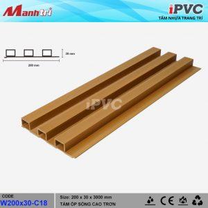 tấm nhựa iPVC W200x30-C18