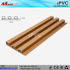 tấm nhựa iPVC 200 x 30 CL23