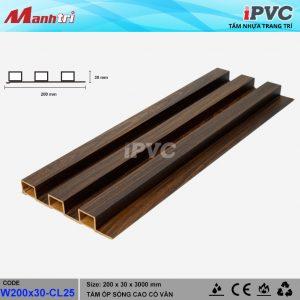 tấm nhựa iPVC W 200 x 30 CL25