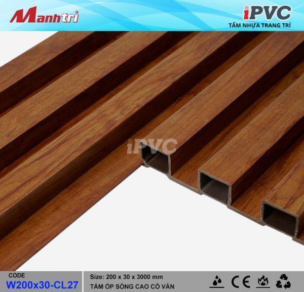 tấm nhựa iPVC W200x30-CL27-b
