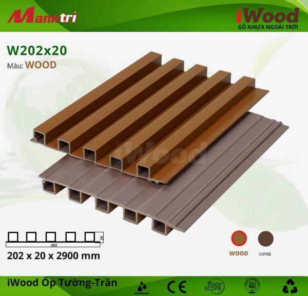 W202x20-Wood hình 1