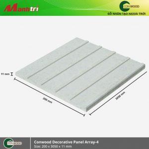 Conwood ốp tường Decorative panel array 4 hình 1