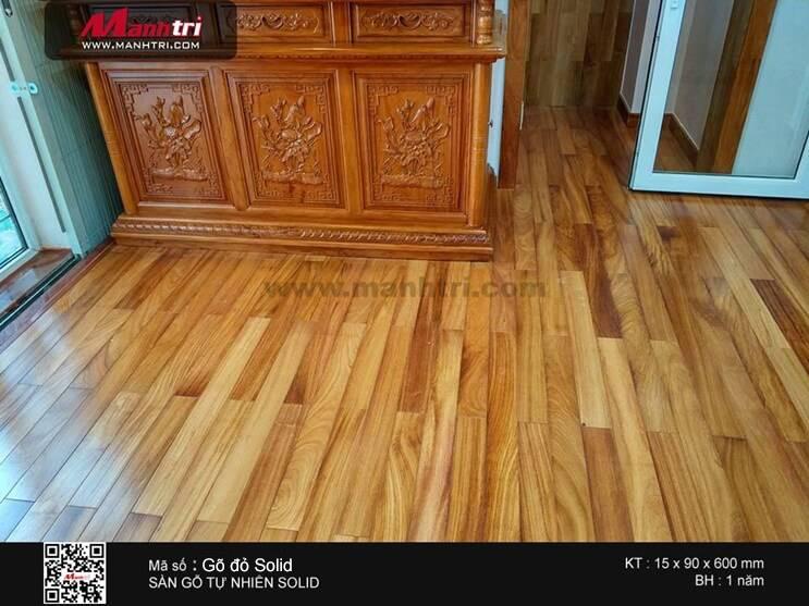 Sàn gỗ Gõ Đỏ đem đến sự sung túc về mặt phong thủy cho người tiêu dùng.