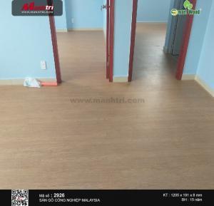Vẻ đẹp sang trọng và hiện đại của sàn gỗ SmartWood đem lại.