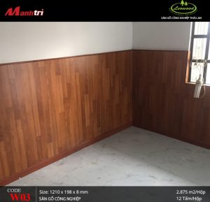 Cận cảnh vẻ đẹp tinh tế, sống động như gỗ tự nhiên của Leowood W03.