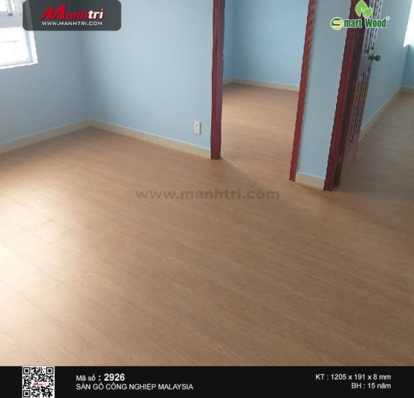 thi công sàn gỗ Smartwood 2926
