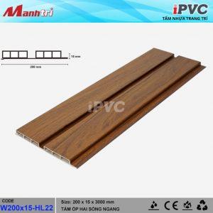 tấm nhựa iPVC HL-22