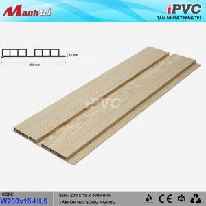tấm nhựa iPVC HL 5