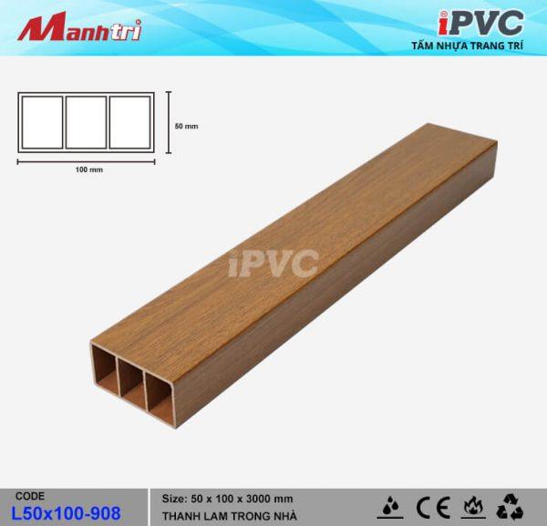 iPVC L50x100-908 hình 1