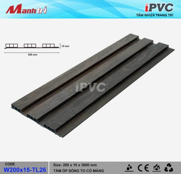 tấm nhựa iPVC TL-26 hình 1