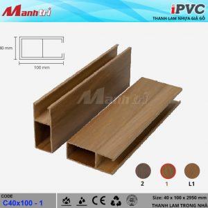tấm nhựa iPVC C40x100-1