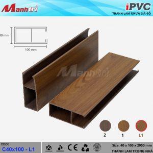 tấm nhựa iPVC C40 x 100 L1