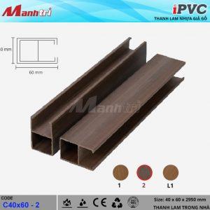 tấm nhựa iPVC C 40 x 60 - 2