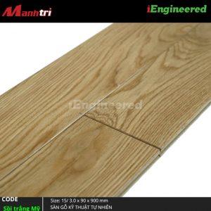 sàn gỗ engineer sồi trắng