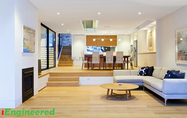 sàn gỗ engineer sồi