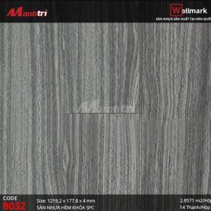 Sàn nhựa Wellmark 8032