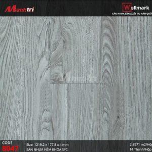 Sàn nhựa Wellmark 8047