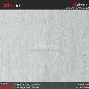 Sàn nhựa Wellmark 8039