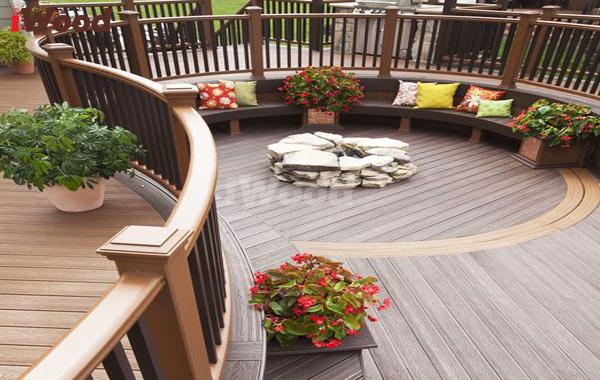 iWood thích hợp lắp đặt với mọi kiến trúc sân vườn.