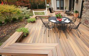 gỗ nhựa iWood sân vườn hình 5