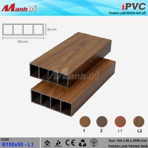 Thanh lam iPVC 150x50 L1