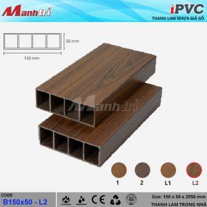 Thanh lam iPVC 150 x 50 L2a