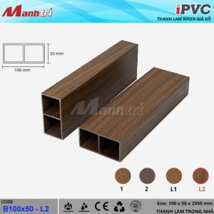 Thanh lam iPVC b100x50 - L2