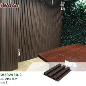 thi công iWood W202x30-2 hình 1