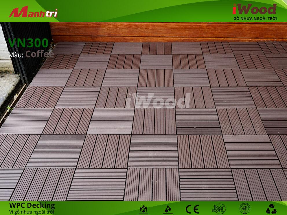 vỉ gỗ iWood VN300 Coffee hình 4