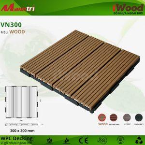 vỉ gỗ nhựa iwood VN300 wood