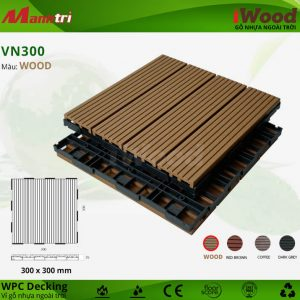 vỉ gỗ nhựa iwood VN300 wood hình 1