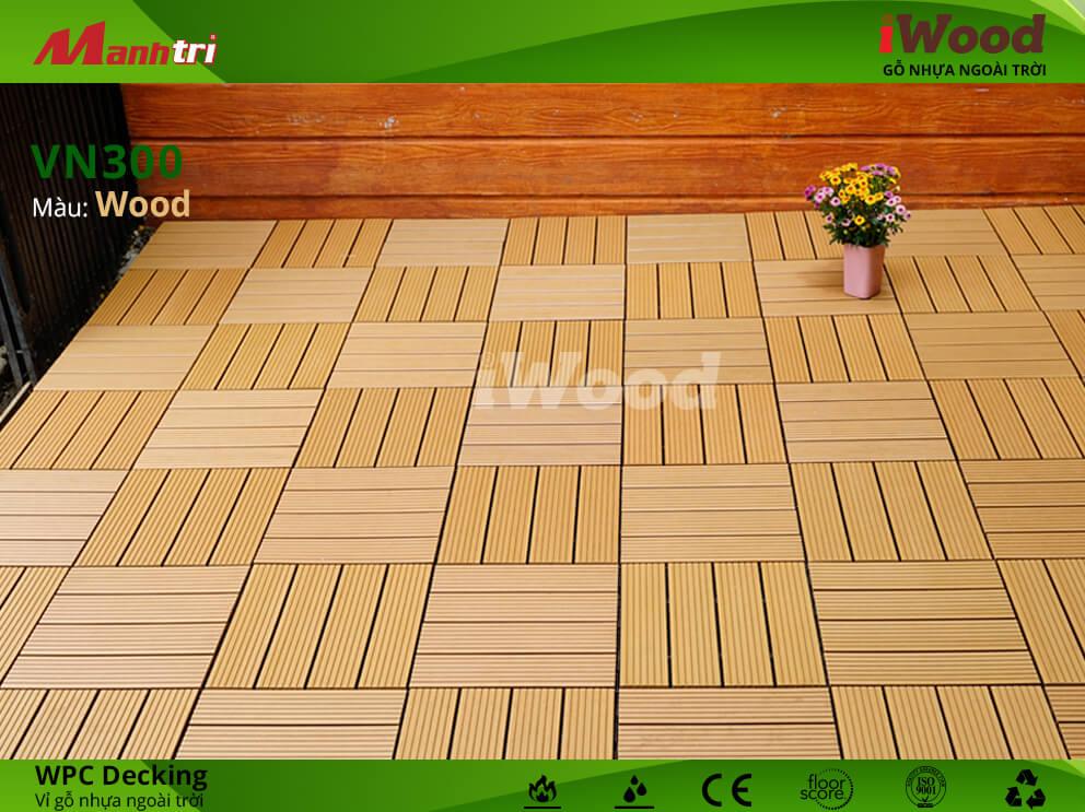 vỉ gỗ iWood VN300 Wood hình 4