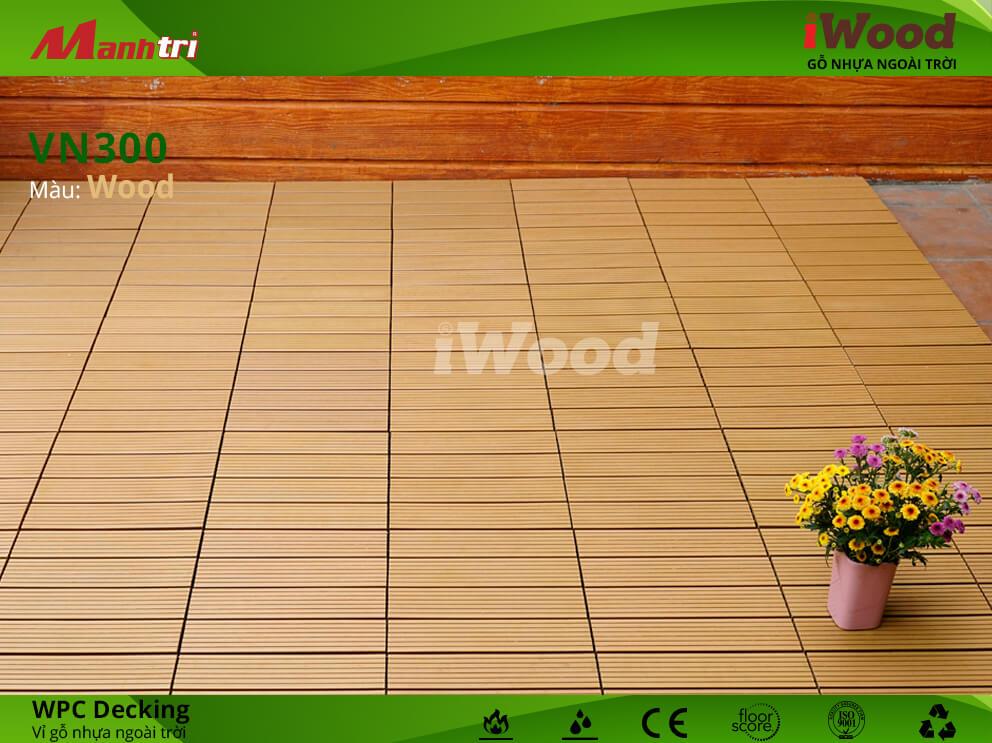vỉ gỗ iWood VN300 Wood hình 5