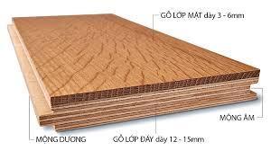 cấu tạo sàn gỗ engineered