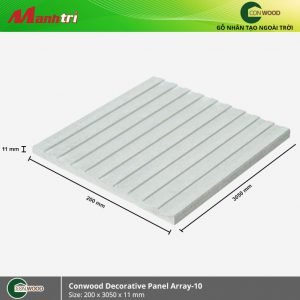 Conwood ốp tường Decorative panel array hình 1