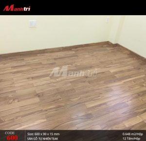 Sàn gỗ Giá tỵ có độ đồng màu lên đến 90%.