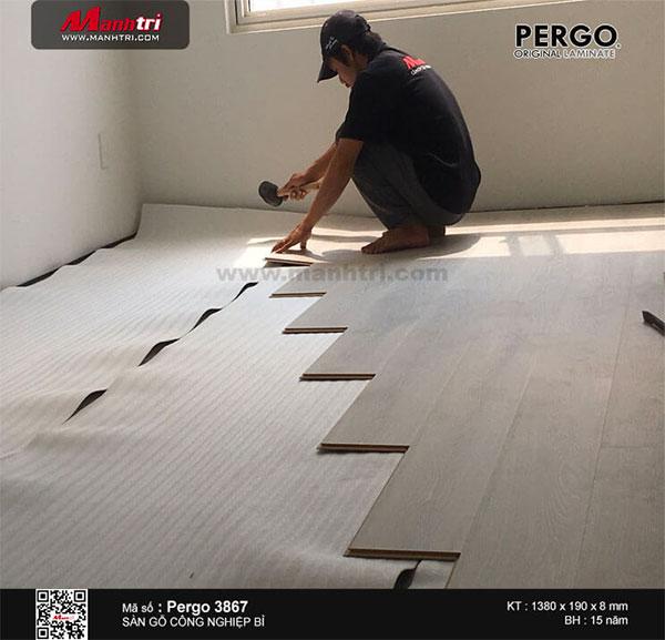 Hình ảnh sàn gỗ Châu Âu Pergo