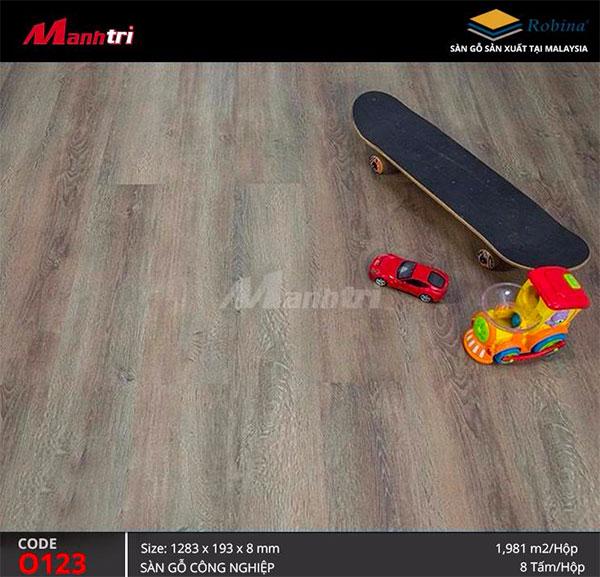 Hình ảnh sàn gỗ công nghiệp Robina O123