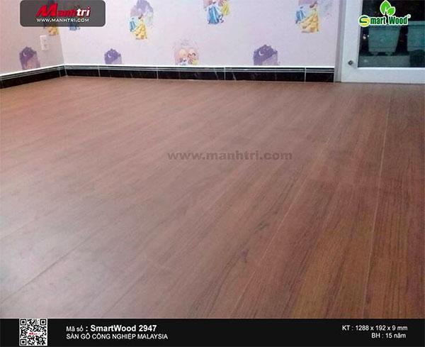 Hình ảnh sàn gỗ SmartWood mã 2947