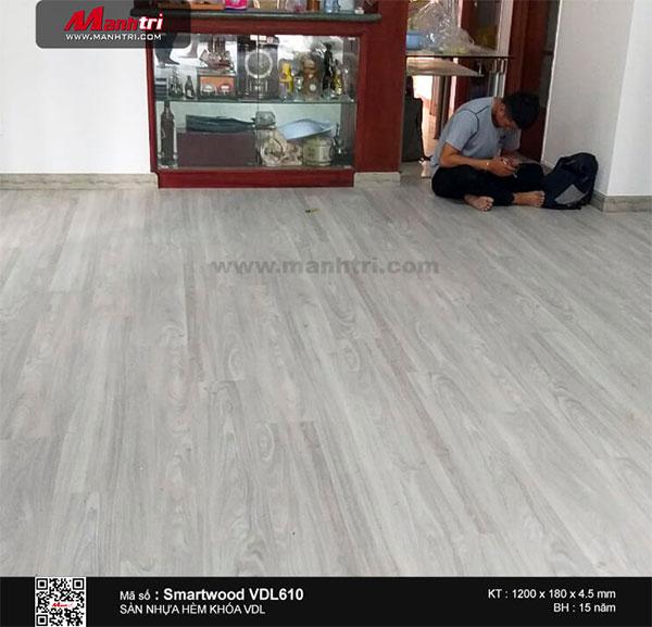 Hình ảnh sàn nhựa hèm khóa Smartwood VDL
