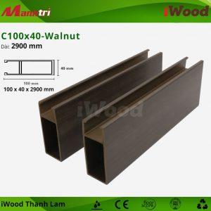 thanh lam iWood C100x40- Walnut 1