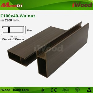 thanh lam iWood C100x40- Walnut 2