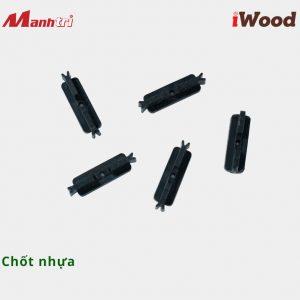 iWood chốt nhựa hình 2