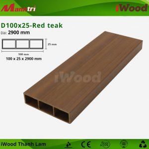 thanh lam iWood D100x25-Red teak 1