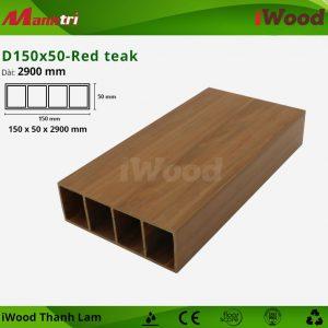 thanh lam iWood D150x50-Red teak 1