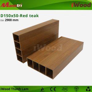 thanh lam iWood D150x50-Red teak 2